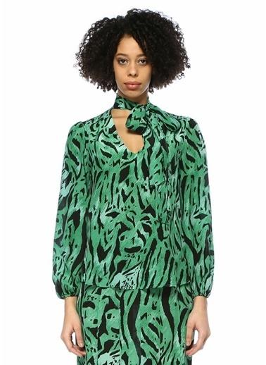 Rixo Bluz Yeşil